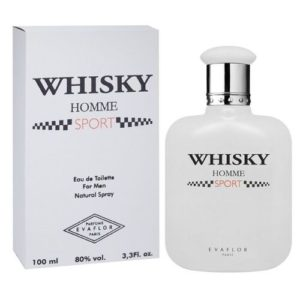 Evaflor Туалетная вода для мужчин Whisky Homme Sport (Виски Ом Спорт), 100 мл 2