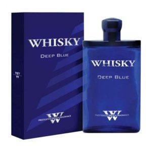 Evaflor Туалетная вода для мужчин Whisky Deep Blue, 80 мл 5