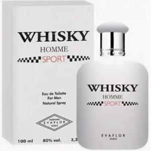Evaflor Туалетная вода для мужчин Whisky Homme Sport (Виски Ом Спорт) цитрусовый, 100 мл 86