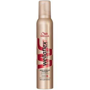 Wella Мусс для волос суперсильный (для горячей укладки феном), 200 мл 8