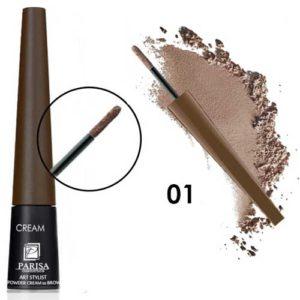 Parisa Пудра-крем для бровей CP-01 тон 01 светло-коричневый, 1 г 12