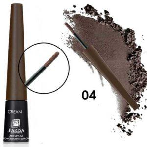 Parisa Пудра-крем для бровей CP-01 тон 04 тёмно-шоколадный, 1 г 12