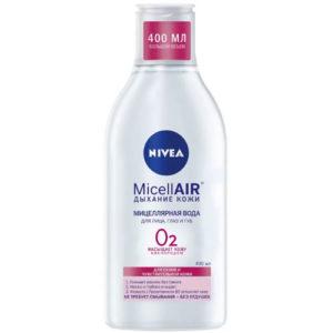 Nivea Мицеллярная вода для лица, глаз и губ для сухой и чувствительной кожи, 400 мл 10