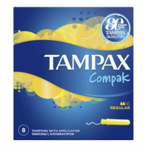 Tampax Тампоны гигиенические с аппликатором Regular, 8 шт 22
