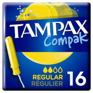 Tampax Тампоны гигиенические с аппликатором Regular, 16 шт 42