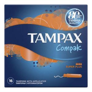 Tampax Тампоны гигиенические с аппликатором Super Plus, 16 шт 23