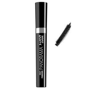 Maxi Color Тушь для ресниц Объем и Подкручивание Panorama Pro Mascara, тон чёрный, 10 мл 84