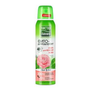 Чистая линия Фито-дезодорант 48 ч защита для нежной кожи, 150 мл 42