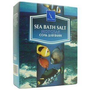 Linstek Laboratory Соль для ванн Морская натуральная, 500 г 4