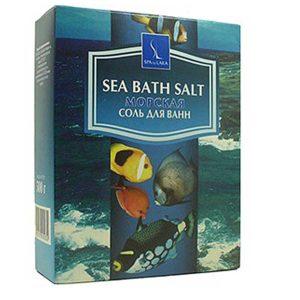 Linstek Laboratory Соль для ванн Морская йодированная с микроэлементами Sea Bath Salt Iodinated, 500 г 3