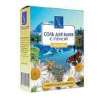 Linstek Laboratory Соль для ванн с пеной Ромашка с растительными экстрактами, 500 г 2