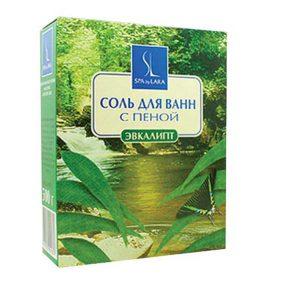 Linstek Laboratory Соль для ванн с пеной Эвкалипт ароматизированная, 500 г 9