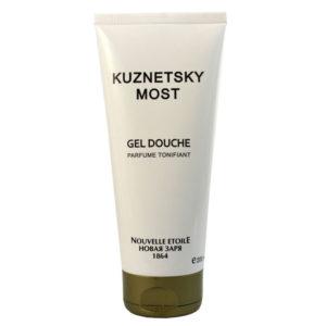 Новая заря Гель для душа Кузнецкий мост Kuznetsky Most парфюмированный тонизирующий, с экстрактами ириса и белого винограда, Д-пантенолом, 200 мл 3