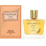 Новая Заря Парфюмерная вода для женщин Patchouli d'or (Золотая пачули), 50 мл 2