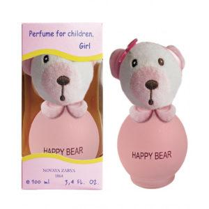 Новая заря Духи для девочек Happy Bear (Счастливый мишутка) фруктово-цветочный, 100 мл 43