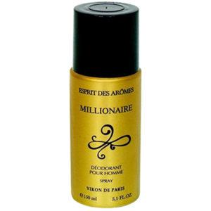 Vikon De Paris Дезодорант парфюмированный для мужчин Миллионер Millionaire древесный, пряный, фруктовый, 150 мл 2