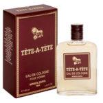 Новая Заря Одеколон для мужчин Tete-a-Tete (Тет-а-Тет), 100 мл 2