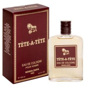 Новая Заря Одеколон для мужчин Tete-a-Tete (Тет-а-Тет), 100 мл 40