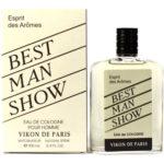 Новая Заря Одеколон для мужчин Best Man Show (Шоу лучшего мужчины), 100 мл 1