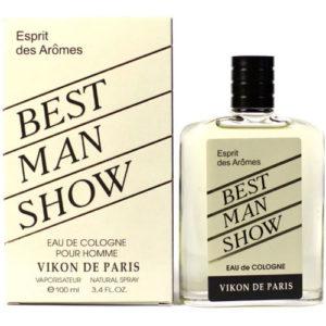 Новая Заря Одеколон для мужчин Best Man Show (Шоу лучшего мужчины), 100 мл 27