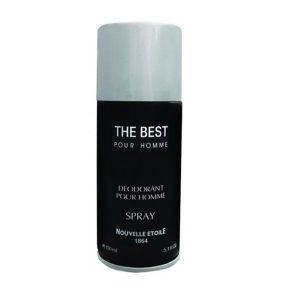 Новая Заря Дезодорант парфюмированный для мужчин Лучший The Best древесный, ароматический, спрей 150 мл 7