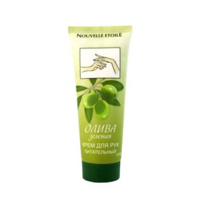 Новая заря крем для рук олива зелёная питательный 12