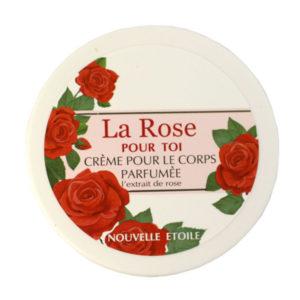 Новая заря La Rose Pour Toi Крем для тела парфюмированный, 250 мл 5