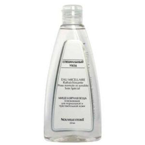 Новая заря Мицеллярная вода для нормальной и чувствительной кожи, 250 мл 5