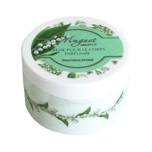 Новая заря Muguet Argente (Ландыш серебристый) Крем для тела увлажняющий парфюмированный, 250 мл 3