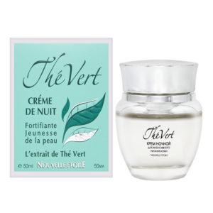 Новая заря The Vert Крем ночной для интенсивного питания кожи с экстрактом зелёного чая, 50 мл 12