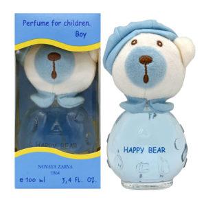 Новая заря Духи для мальчиков Happy Bear (Счастливый мишутка) фруктово-цветочный, 100 мл 6