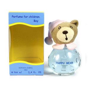 Новая заря Духи для мальчиков Happy Bear (Счастливый мишутка) фруктово-цветочный, 100 мл 7