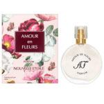 Новая Заря Духи для женщин Amour en Fleurs (Любовь в цветах), 30 мл 2