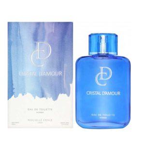 Новая Заря Туалетная вода для мужчин Кристалл Любви Cristal D'Amour цитрусовый, фужерный, 100 мл 8