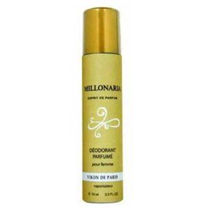 Vikon de Paris Дезодорант парфюмированный для женщин Millionairess Lovely (Миллионерша любимая), 75 мл 5