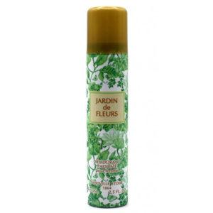 Новая заря Дезодорант парфюмированный для женщин Сад цветов Jardin de Fleurs цветочный, фруктовый, 75 мл 3