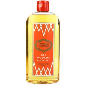 Новая заря Гель для душа Красная Москва парфюмированный увлажняющий, с экстрактом мальвы, Д-пантенолом, 430 мл 3