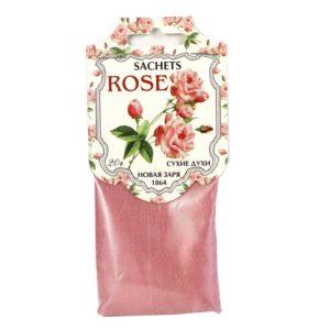 Новая заря сухие духи роза rose, саше 5