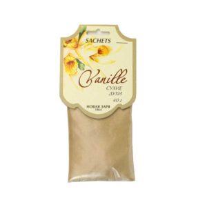 Новая заря сухие духи ваниль vanille, саше 8
