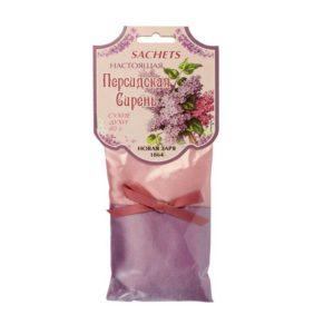 Новая заря сухие духи персидская сирень настоящая true persian lilac, саше 40 г 15