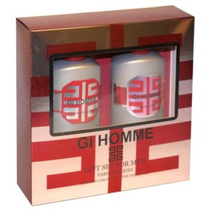 Набор косметический парфюмерный для мужчин Gi Homme (шампунь 250 мл + гель для душа 250 мл) 4