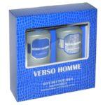 Набор косметический парфюмерный для мужчин Verso Homme (шампунь 250 мл + гель для душа 250 мл) 2