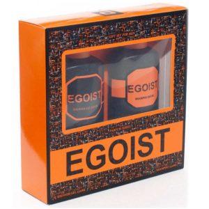 Набор косметический парфюмерный для мужчин Egoist (шампунь 250 мл + гель для душа 250 мл) 4