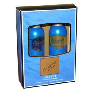 Набор косметический парфюмерный для женщин Clima (шампунь 250 мл + гель для душа 250 мл) 5