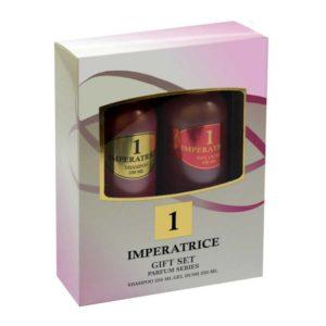 Набор косметический парфюмерный для женщин 1 Imperatrice (шампунь 250 мл + гель для душа 250 мл) 4
