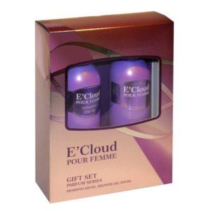 Набор косметический парфюмерный для женщин E'Cloud (шампунь 250 мл + гель для душа 250 мл) 11