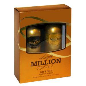 Набор косметический парфюмерный для женщин Light Million (шампунь 250 мл + гель для душа 250 мл) 3