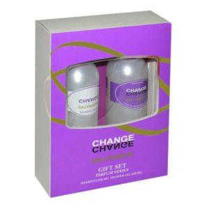 Набор косметический парфюмерный для женщин Change eau Fraiche (шампунь 250 мл + гель для душа 250 мл) 12