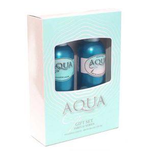 Набор косметический парфюмерный для женщин Aqua Gi (шампунь 250 мл + гель для душа 250 мл) 11