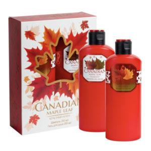 Canadian Набор подарочный Красный клён (шампунь 250 мл + гель д/душа 250 мл) 3